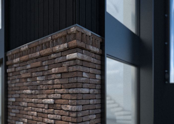 BUKA Architektua detal cegła